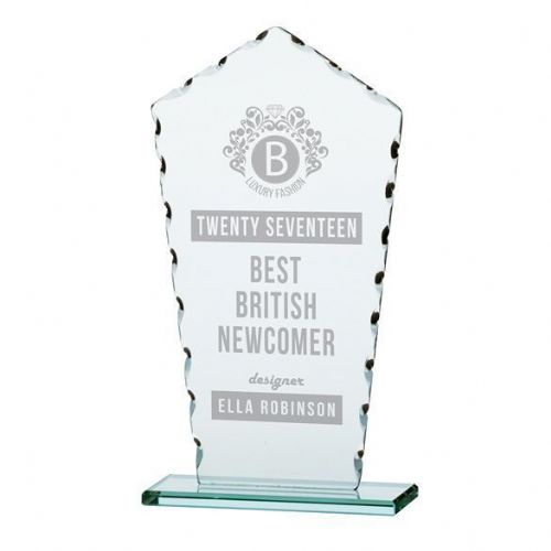 Jade Defender Glass Award 205mm